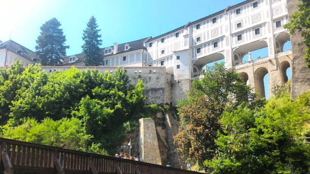Чешский Крумлов и замок Глубока над Влатвой - фото 5