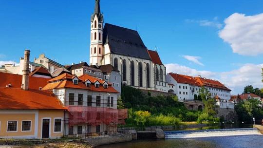 Чешский Крумлов и замок Глубока над Влатвой - фото 6