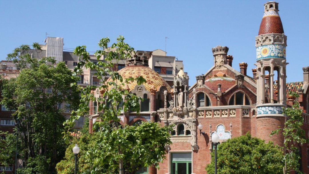 в монастырь Монтсеррат в Барселоне