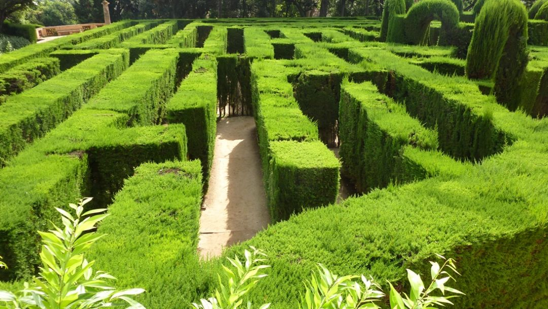 Экскурсия Панорамная Барселона и парк-лабиринт Horta