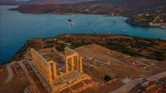 Экскурсия Мыс Сунион и радоновое озеро Вульагмени по Афинам