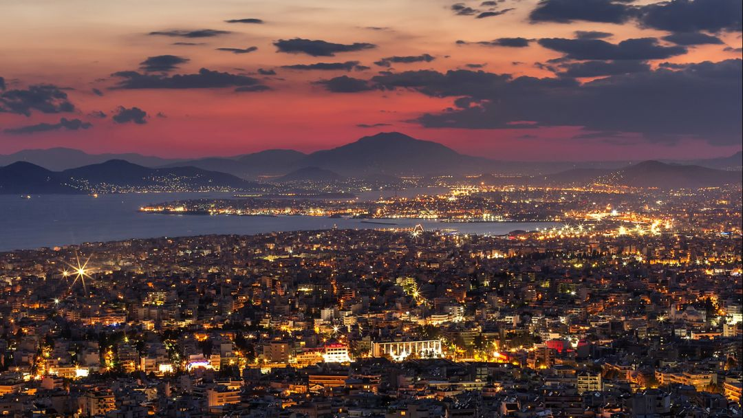 Ночные Афины — греческий колорит - фото 1