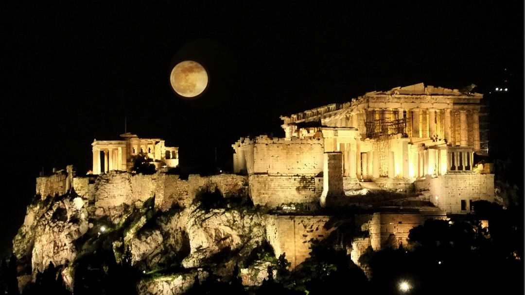 Ночные Афины — греческий колорит - фото 2