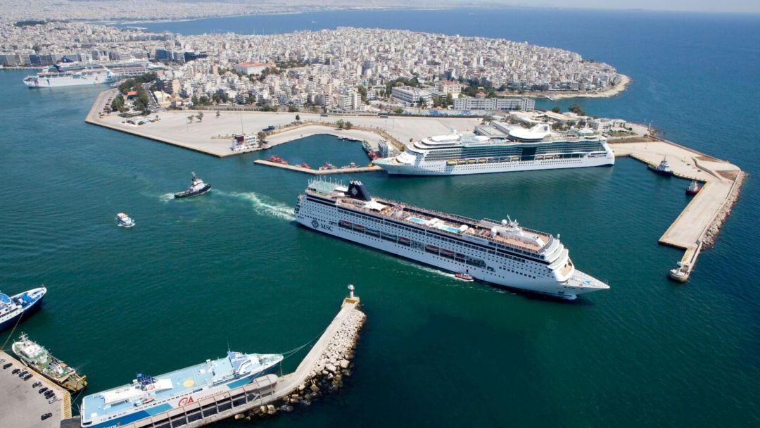 Экскурсия из порта Пирей