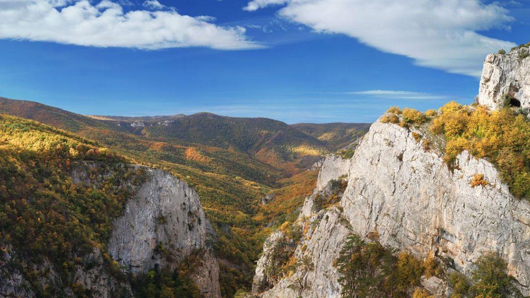 Экскурсия Большой каньон Крыма и пикник на природе.