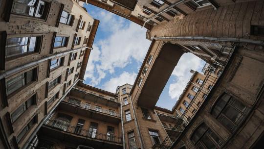 Экскурсия Необычные дворики в Санкт-Петербурге