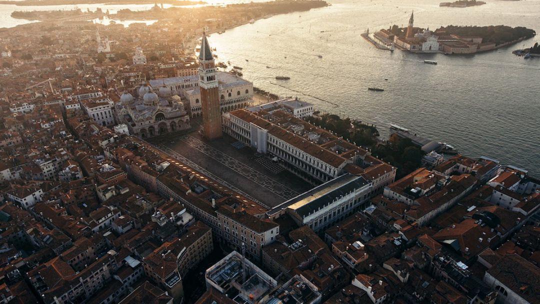 Венеция с высоты птичьего полета - фото 1
