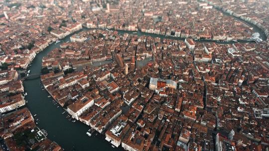 Венеция с высоты птичьего полета - фото 2