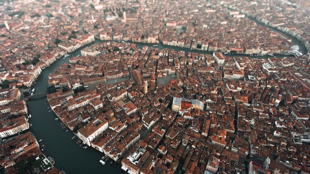 Венеция с высоты птичьего полета - фото 3