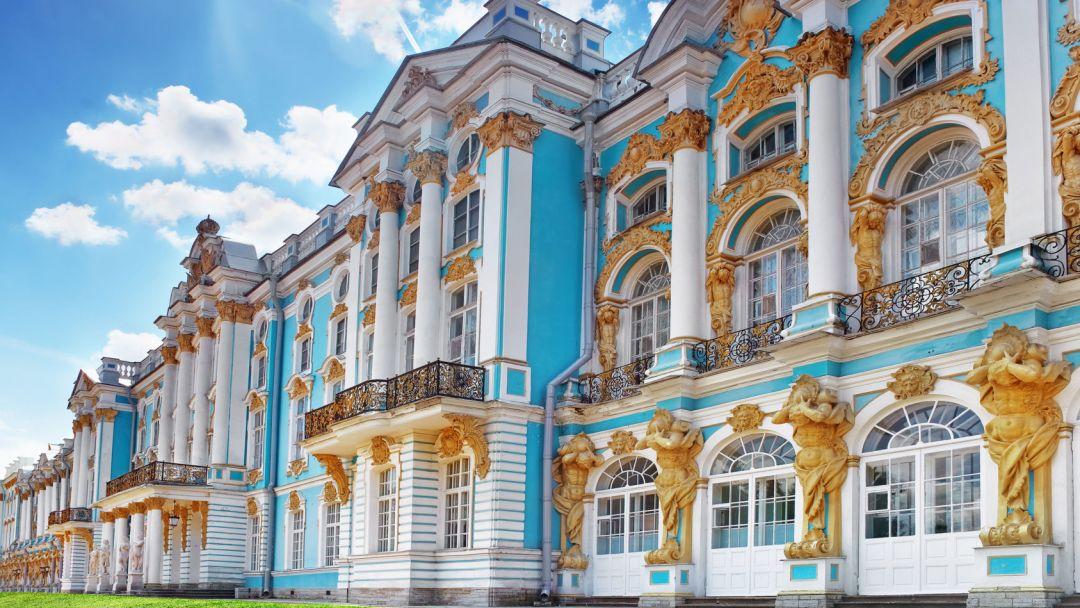 Экскурсия Пушкин с посещением Янтарной комнаты