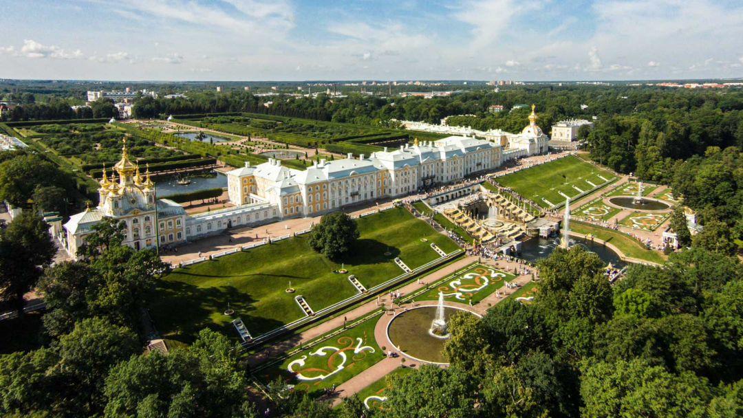 Экскурсия Петергоф (Большой дворец)