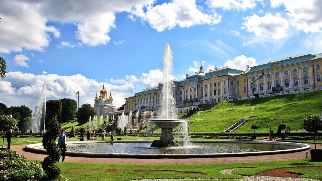 Петергоф (Большой дворец) - фото 2