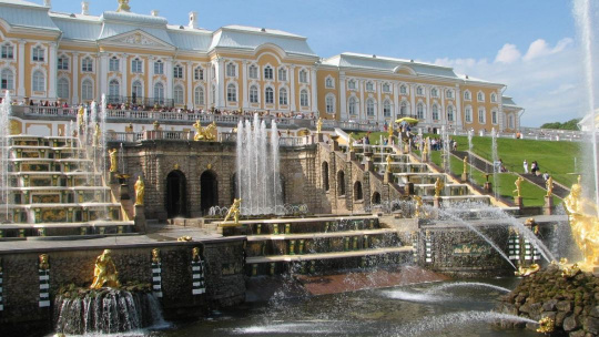 Петергоф (Большой дворец) - фото 3