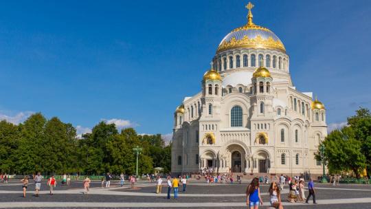 Кронштадт обзорная экскурсия с посещением Морского собора - фото 2