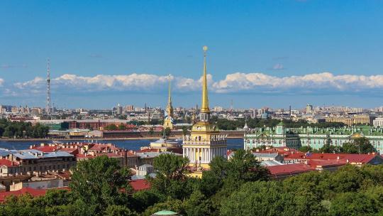 Крыша с видом на Петропавловку и акваторию Невы - фото 3