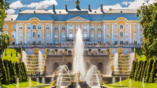 Экскурсия Экскурсия в Петергоф и Ораниенбаум в Санкт-Петербурге