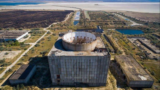 Казантипский заповедник и Крымская атомная электростанция - фото 3