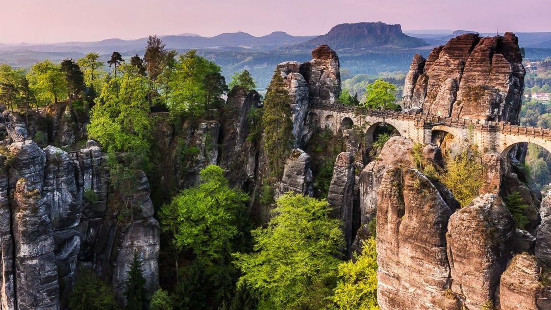 Экскурсия Саксонская Швейцария из Праги