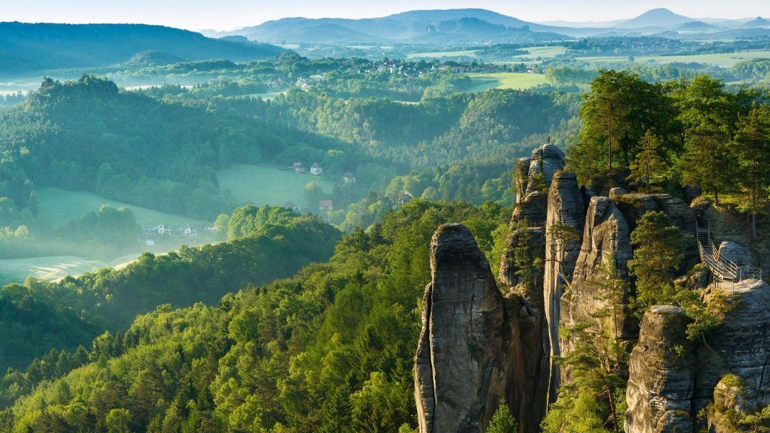 Саксонская Швейцария из Праги - фото 3