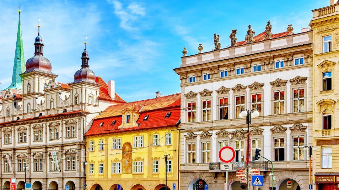 Сказочная Мала Страна в Праге