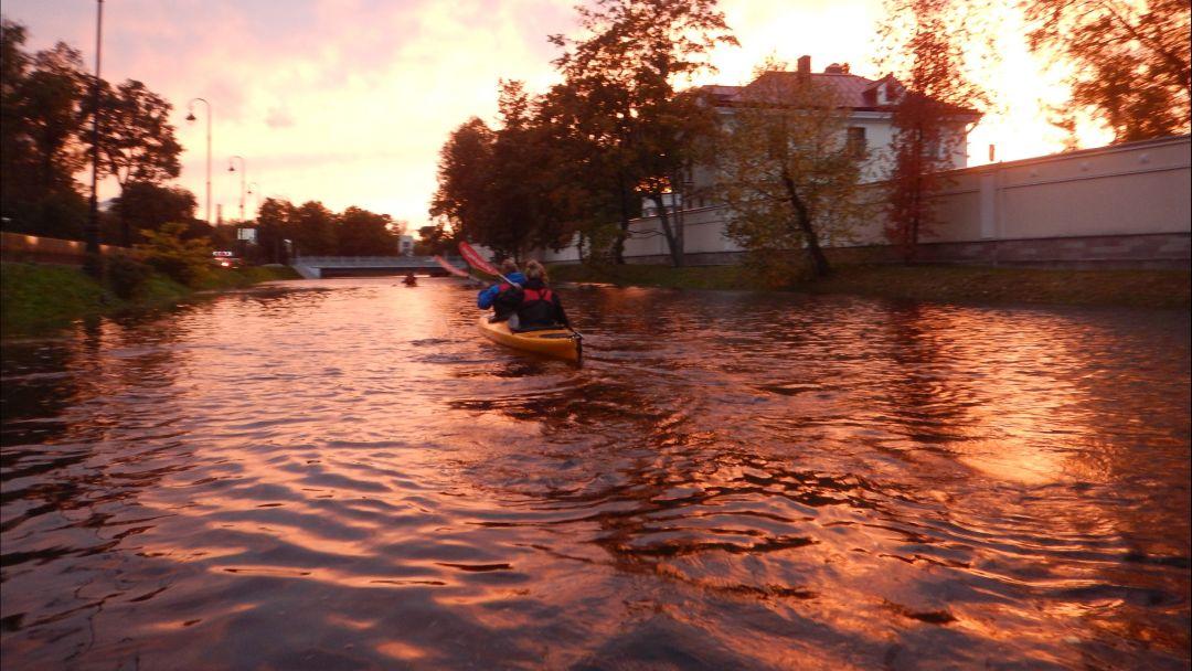 Прогулка на каяках: Парковые Острова Санкт-Петербурга - фото 3