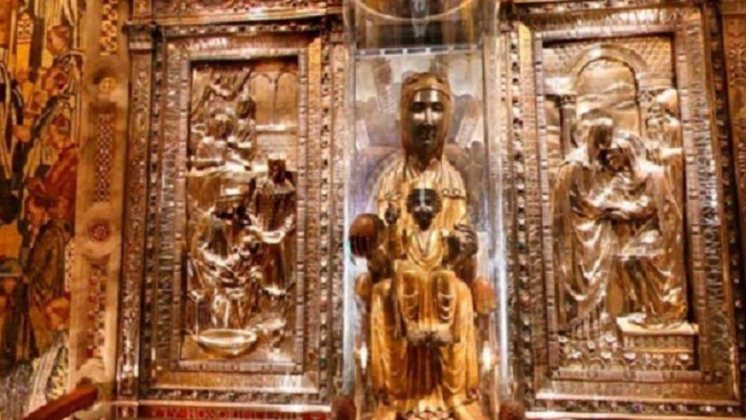 Монастырь Монтсеррат. Черная Мадонна - фото 1