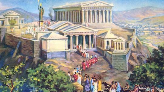 Экскурсия Погружение в историю Античных Афин по Афинам
