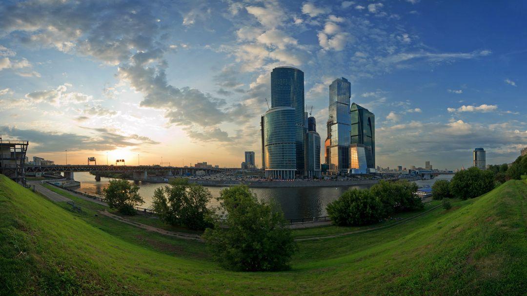 354 метра над землёй в Москве