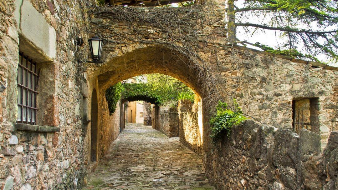 Средневековая Каталония: Мура и дегустация вин в замке Олер дель Мас - фото 2