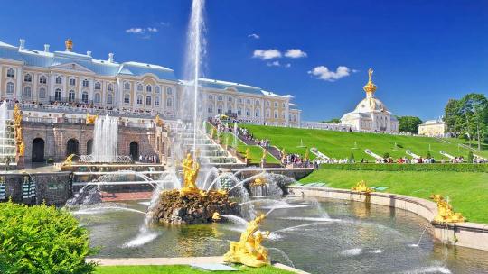 Петергоф Большой Дворец  - фото 2