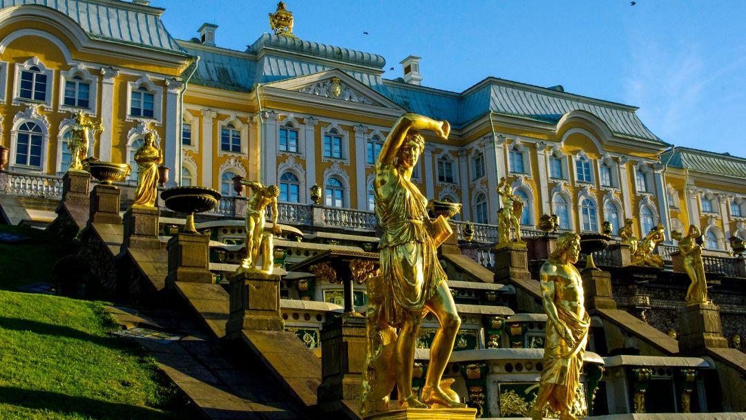 Петергоф Большой Дворец  - фото 3