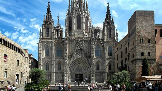 Прогулка по центру Барселоны - фото 2