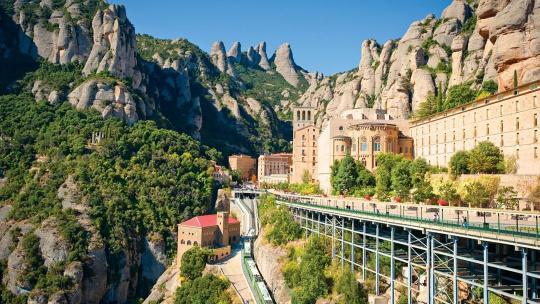Экскурсия Монастырь Монтсеррат по Барселоне