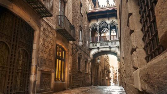 По старой Барселоне - фото 7