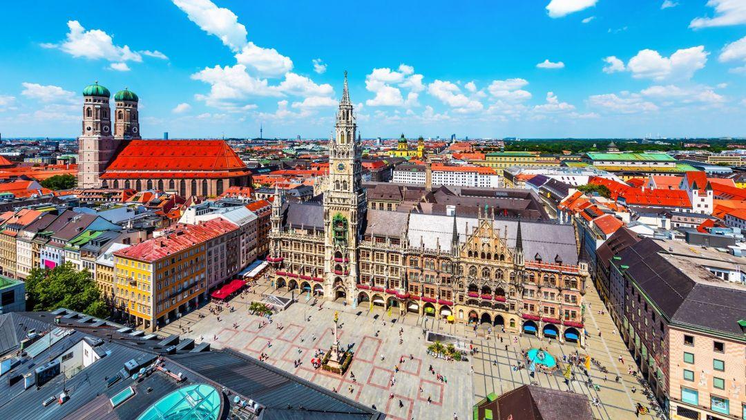 Экскурсия Обзорная пешеходная экскурсия по Мюнхену