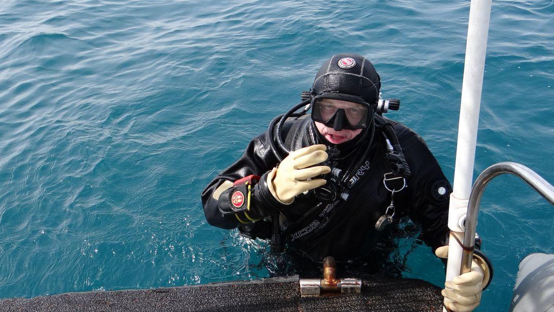 Дайвинг, погружение с аквалангом в Черном море с берега - фото 2