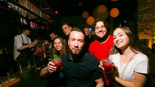 Экскурсия Тур по барам Москвы | Pub Crawl Moscow | Bar hopping Moscow