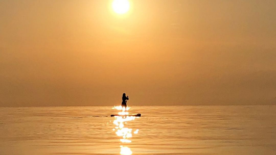 Прогулка на закат на сапбордах - фото 3