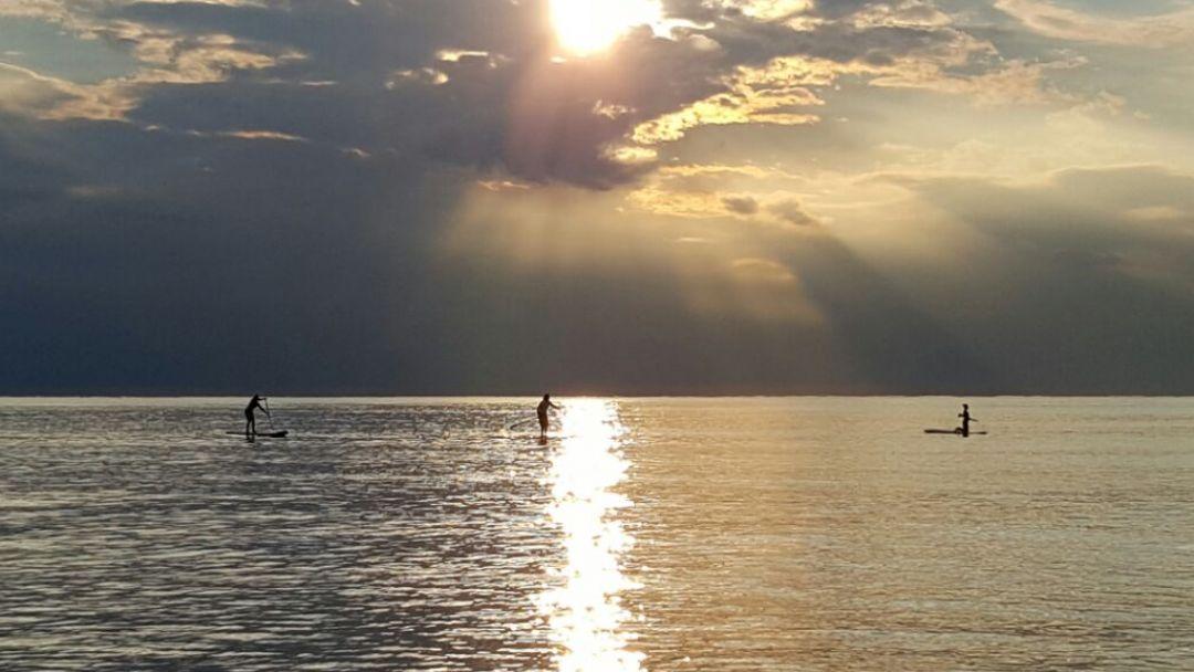 Прогулка на закат на сапбордах - фото 5