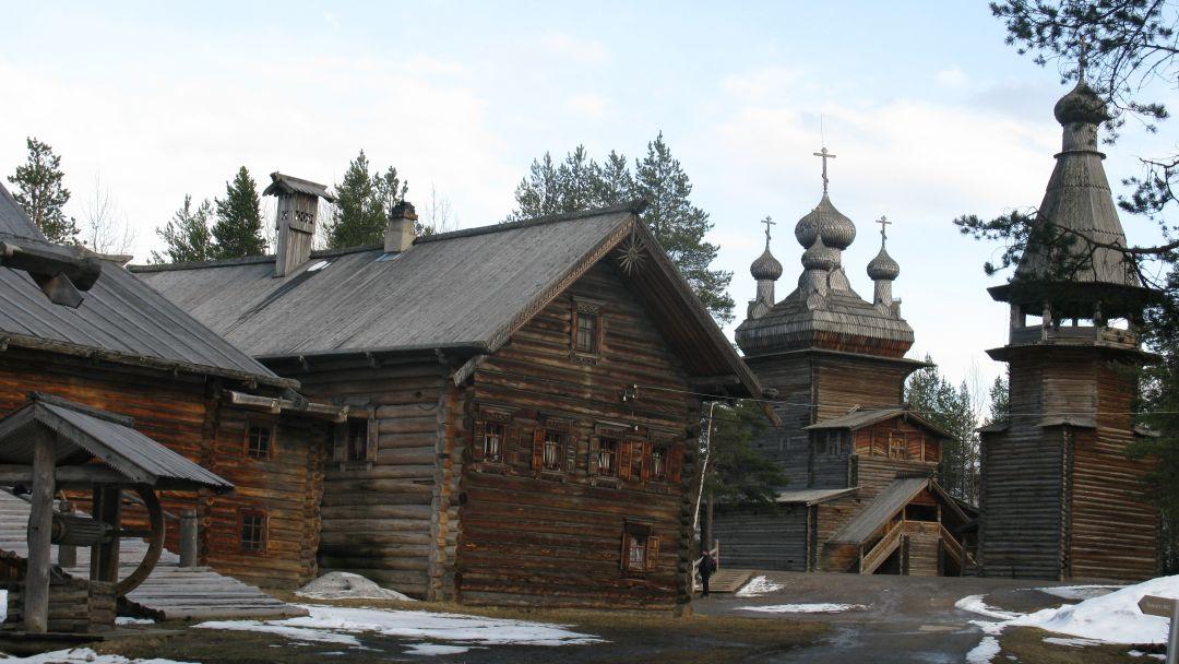 Деревянное зодчество Русского Севера - фото 1