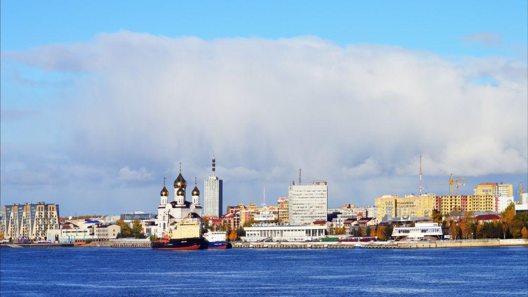 Северный город Архангельск в Архангельске