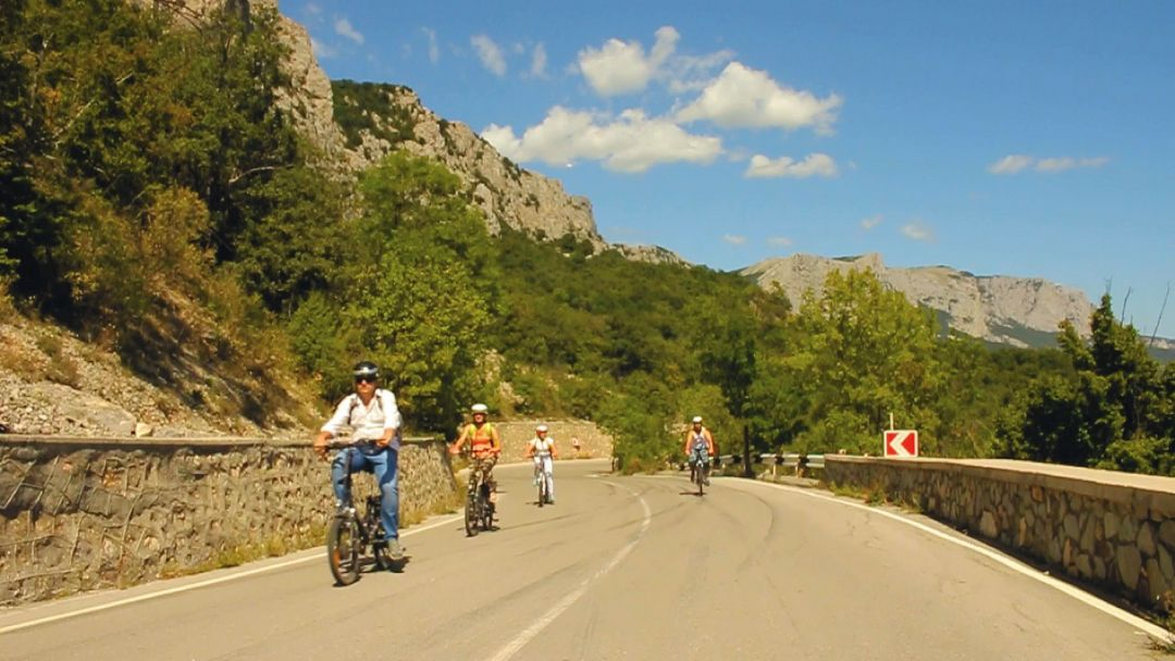 Экскурсия На Электровелосипеде по Крыму за 7 дней: ЮБК - Ялта и Алушта