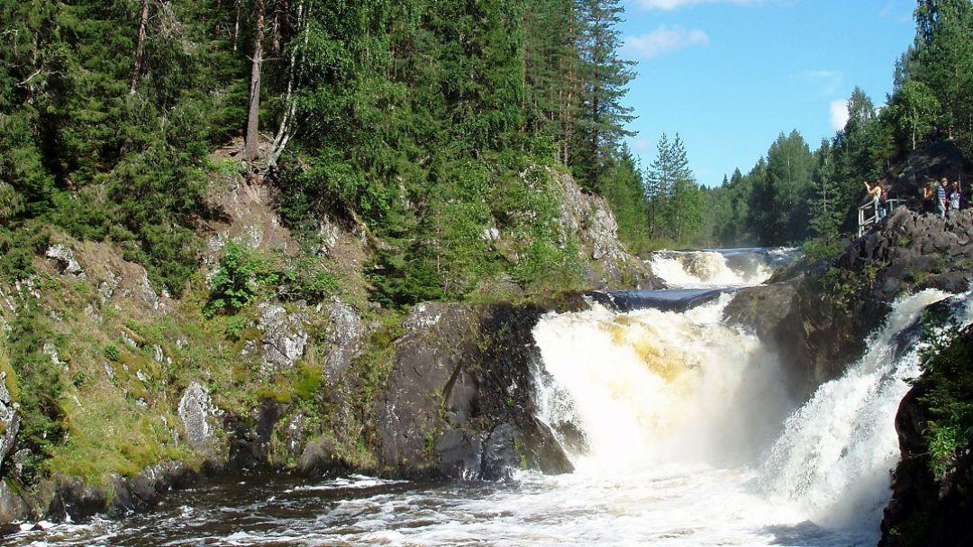 Заповедник и водопад «Кивач»  - фото 1