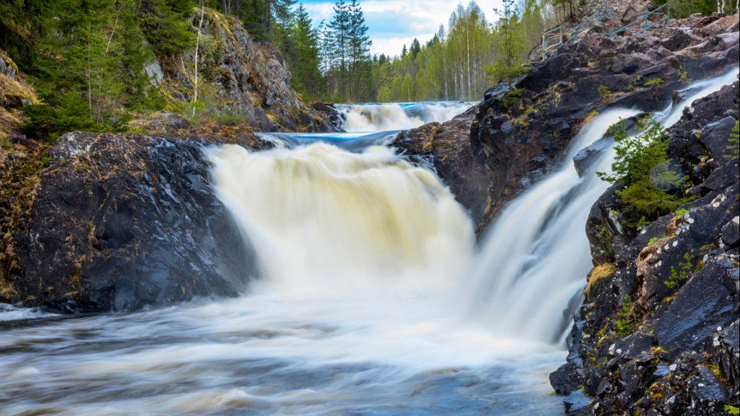 Заповедник и водопад «Кивач»  - фото 2