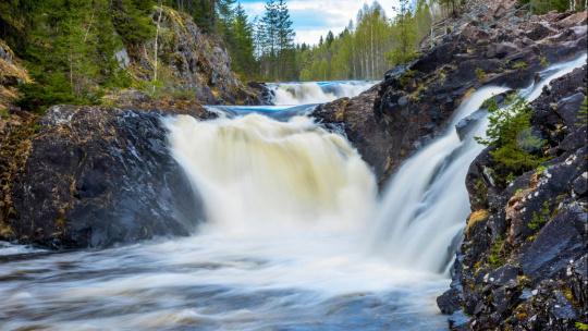 Водопад Кивач - фото 2