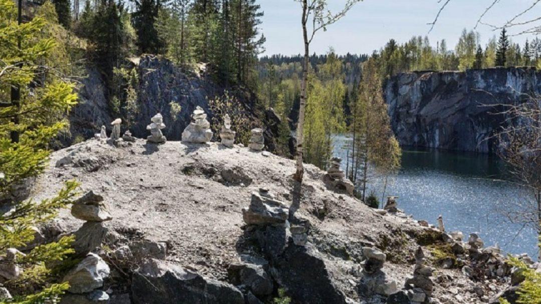 Город Сортавала и Горный парк Рускеала - фото 2