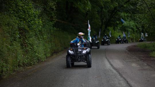 """""""Уровень Бог """"  Тур на квадроцикле для опытных в Сочи - фото 2"""