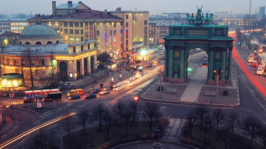 Экскурсия Советский конструктивизм. Прогулки по Санкт-Петербургу
