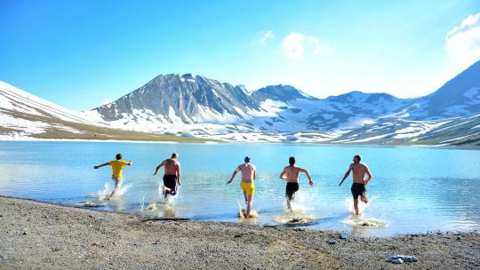 Экскурсия Поход на три дня к озеру Келицади  по Тбилиси