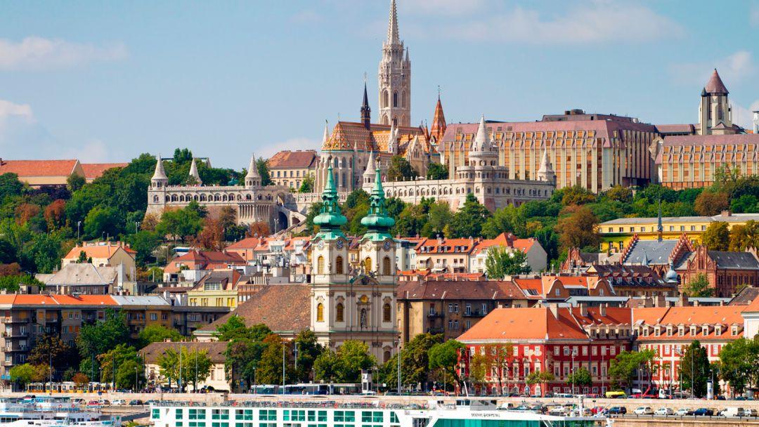 Будайская крепость - королевский маршрут в Будапеште